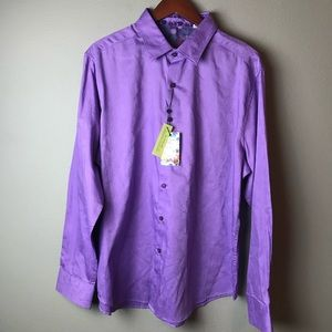 Robert Graham Walden Long Sleeves men's shirt. NWT